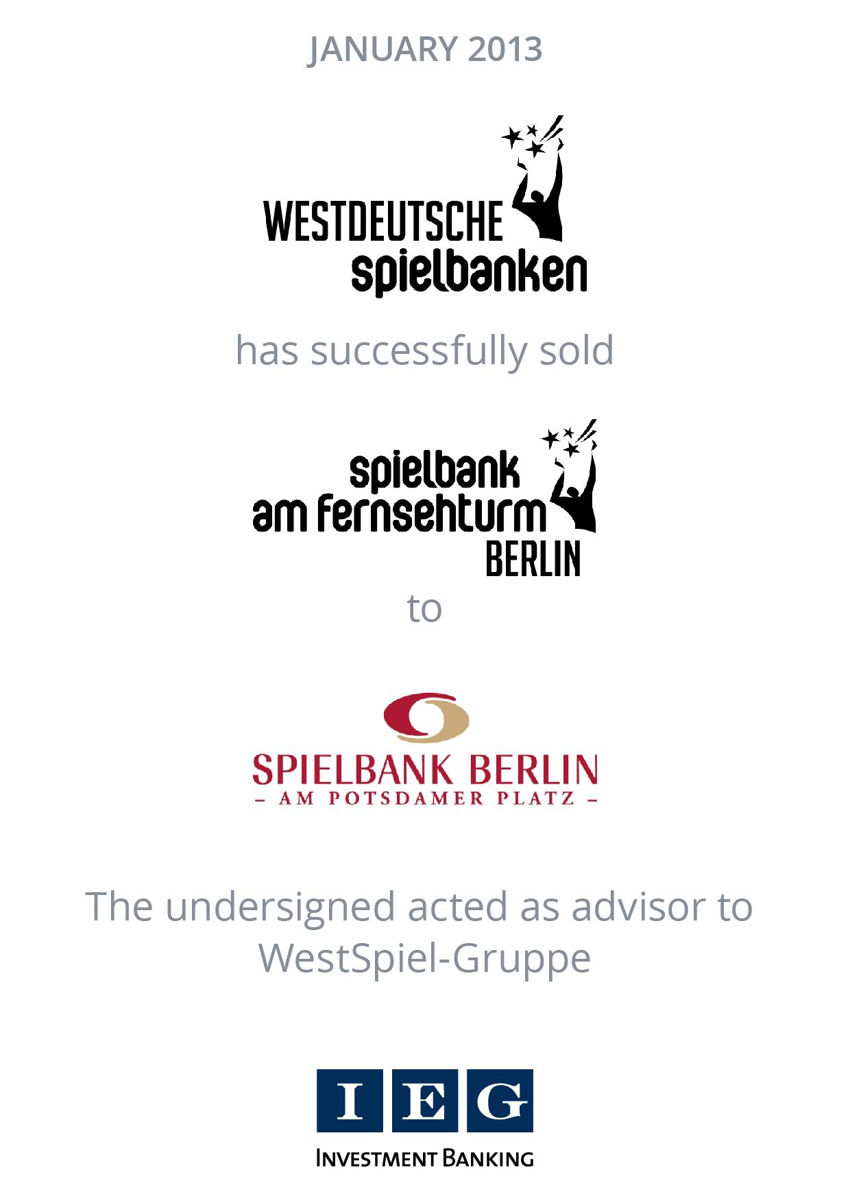 westdeutsche spielbanken
